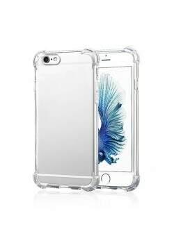 Capa Protetora Transparente com Borda Antishock Para Apple Iphone 6<br>