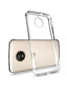 Capa Protetora Transparente Com Borda Antishock Para Motorola Moto G5S PLUS