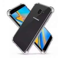 Capa Protetora Transparente Com Borda Antishock Para Samsung Galaxy J4 Plus..