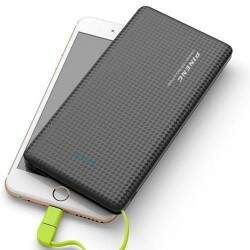 Carregador Portátil Power Bank 10000mah 3 Cargas P..