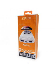 Carregador Portátil KD790 Wireless Power Bank 2000..