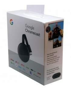Chromecast 3 HDMI Full HD Resolução 1080P 4K Goog..